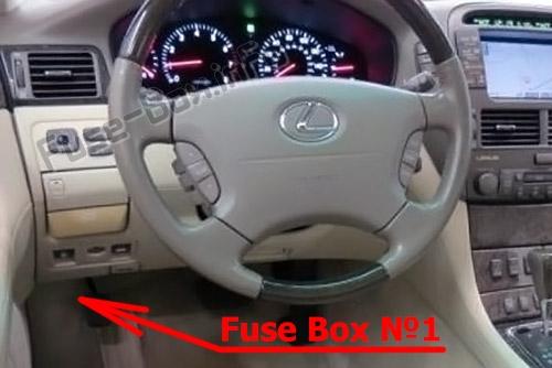 Fuse Box Diagram Lexus Ls430 Xf30 2000 2006