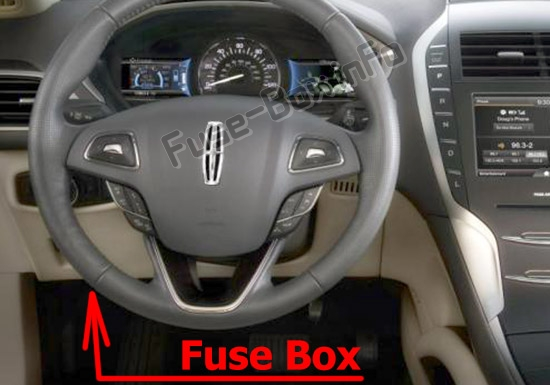 Fuse Box Diagram Lincoln Mkz  2017