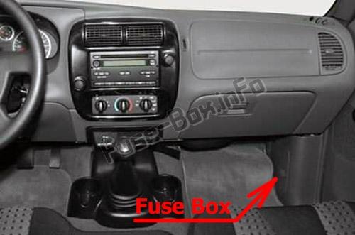 Fuse Box Diagram > Mazda B-Series (2002-2006)  Mazda Truck Fuse Diagram on gmc truck fuse diagrams, ford fuse diagrams, mazda engine diagram, jeep fuse diagrams, harley davidson fuse diagrams,