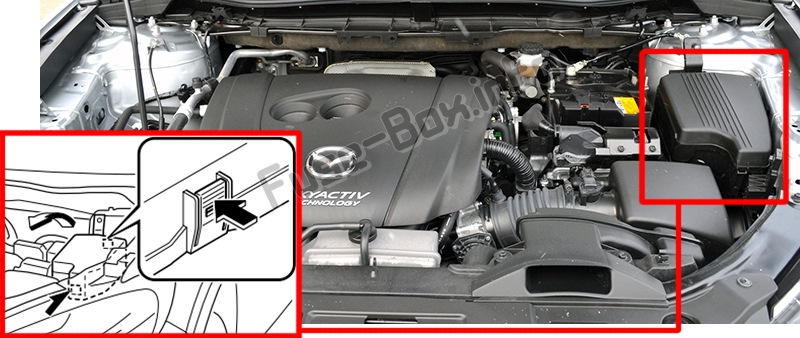 [SCHEMATICS_48IS]  Fuse Box Diagram Mazda CX-5 (2013-2016) | Mazda Cx 5 Fuse Box Location |  | Fuse-Box.info