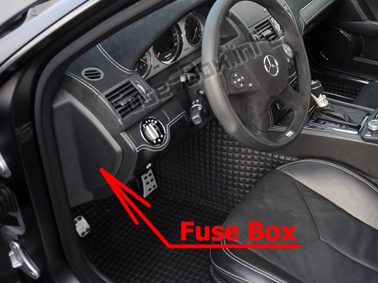 Fuse Box Diagram > Mercedes-Benz C-Class (W204