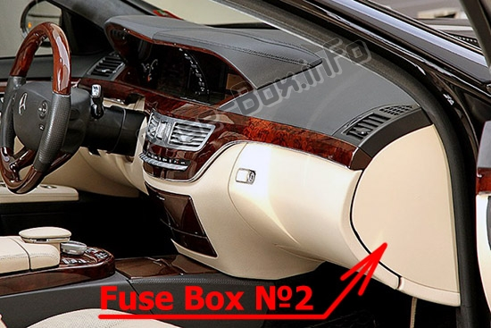 Fuse Box Diagram Mercedes S