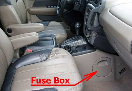 Diagram  Cigarette Lighter Fuse For 2004 Aztek Full