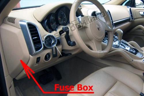 Fuse Box Diagram  U0026gt  Porsche Cayenne  92a  E2  2011