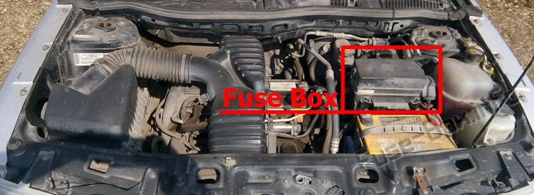 Fuse Box Diagram  U0026gt  Saturn Vue  2001