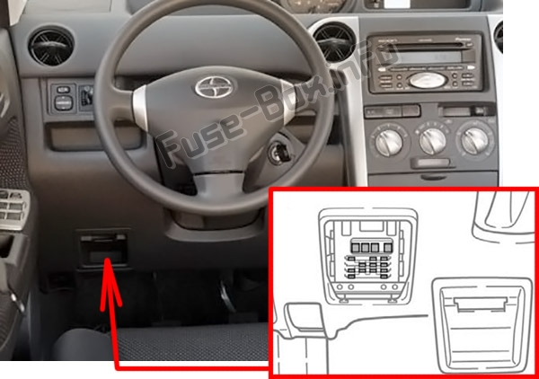 Fuse Box Diagram  U0026gt  Scion Xb  2004