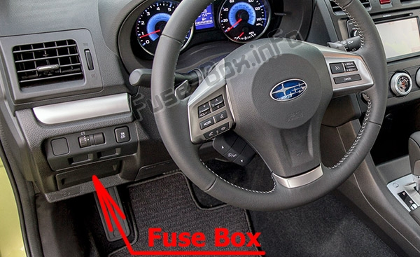 Fuse Box Diagram  U0026gt  Subaru Crosstrek    Xv  2011