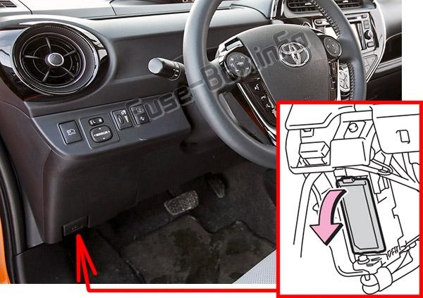 Fuse Box Diagram  U0026gt  Toyota Prius C  2012