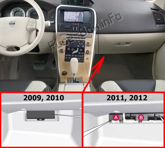 Fuse Box Diagram  U0026gt  Volvo Xc60  2009