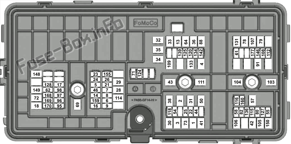 Fuse Box Diagram  U0026gt  Lincoln Aviator  U611  2020