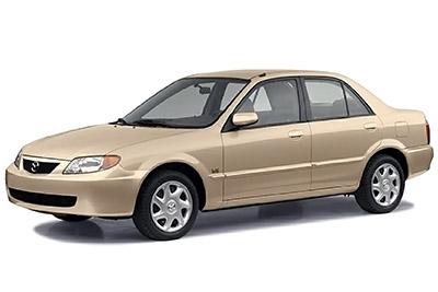Fuse Box Diagram Mazda Protege 2000 2003