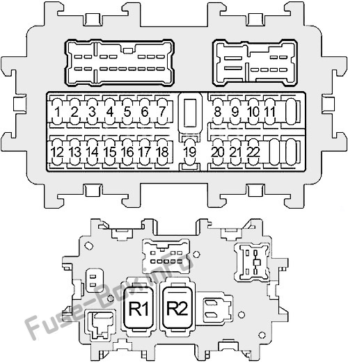 Fuse Box Diagram  U0026gt  Nissan 350z  2003
