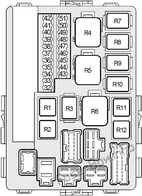 2002 Nissan Altima 25 Fuse Box Diagram