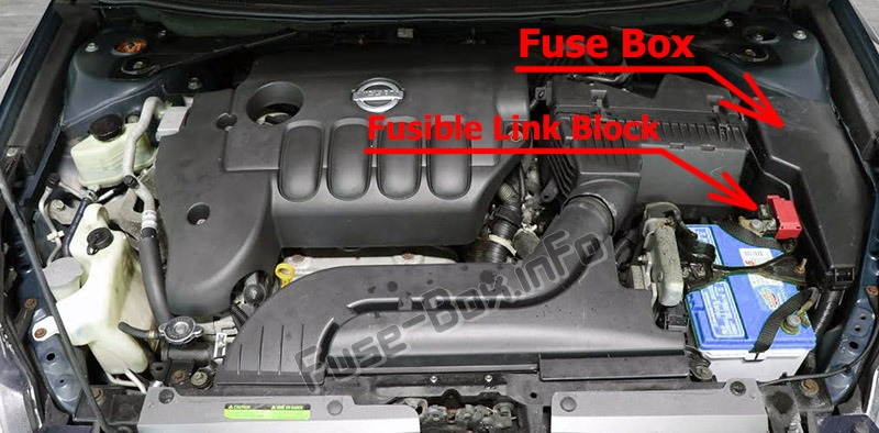 Fuse Box Diagram Nissan Altima L32 2007 2013