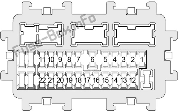 fuse box diagram nissan altima (l32; 2007-2013)  fuse-box.info
