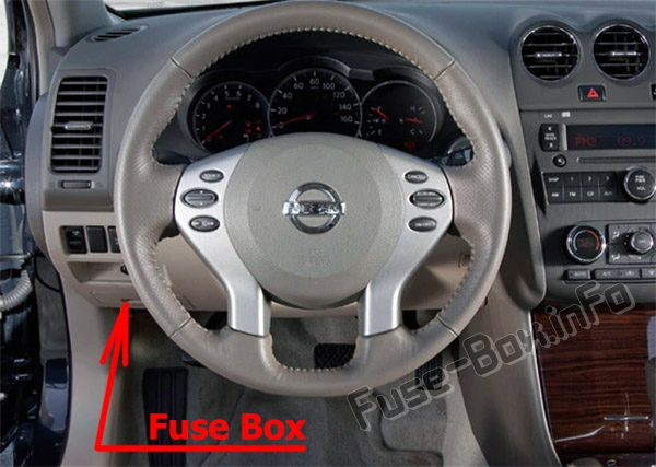 2003 Altima Fuse Box Location