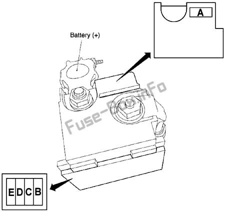 Fuse Box Diagram Nissan Murano Z51 2009 2014