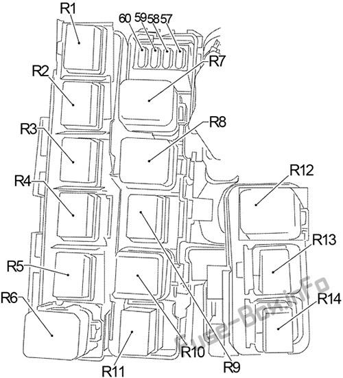 [NRIO_4796]   Fuse Box Diagram Nissan Xterra (N50; 2005-2015) | 2008 Nissan Xterra Fuse Box Diagram |  | Fuse-Box.info