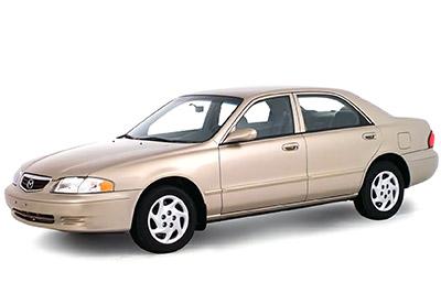 Fuse Box Diagram Mazda 626 (2000-2002)Fuse-Box.info