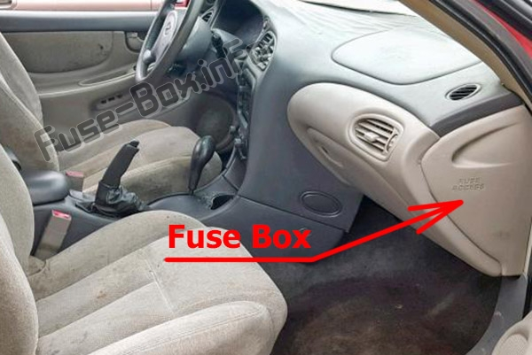 Fuse Box Diagram Oldsmobile Alero  1999