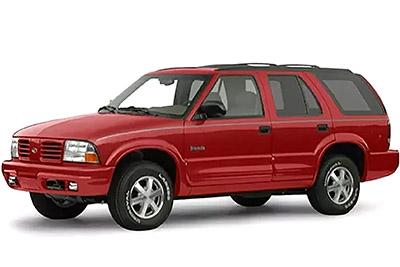Fuse Box Diagram Oldsmobile Bravada (1999-2001)