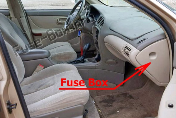 Fuse Box Diagram Oldsmobile Intrigue (2000-2002)Fuse-Box.info