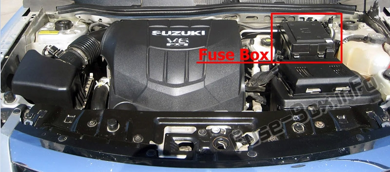 Fuse Box Diagram  U0026gt  Suzuki Xl7  2006