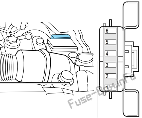 Fuse Box Diagram Lincoln Navigator  1998
