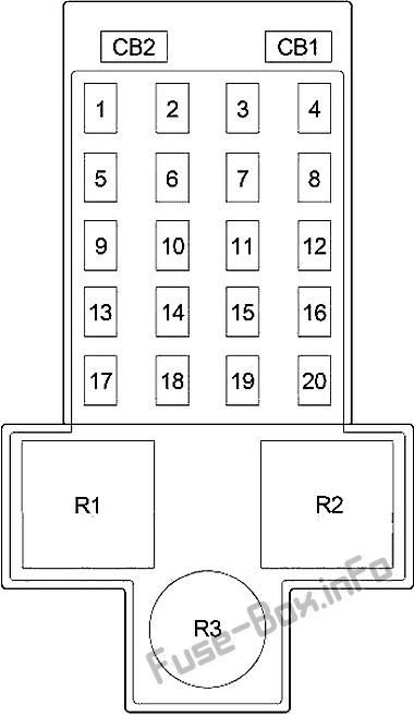 fuse box diagram chrysler pt cruiser (2001-2010)  fuse-box.info