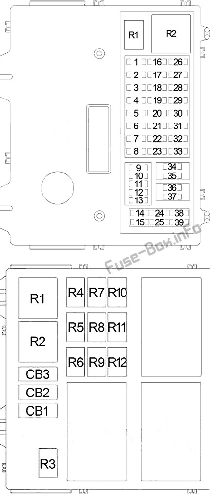 [ZTBE_9966]  Fuse Box Diagram Jeep Liberty / Cherokee (KJ; 2002-2007) | 2004 Jeep Liberty Fuse Box Layout |  | Fuse-Box.info