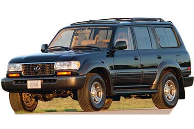 Fuse Box Diagram Lexus LX450 (J80; 1996-1997)