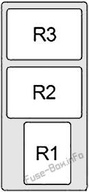 Relay Box #1: Infiniti FX35/FX45 (2003, 2004, 2005, 2006, 2007, 2008)