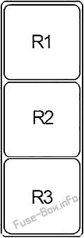 Relay Box: Infiniti G35 (2002, 2003, 2004, 2005, 2006, 2007)