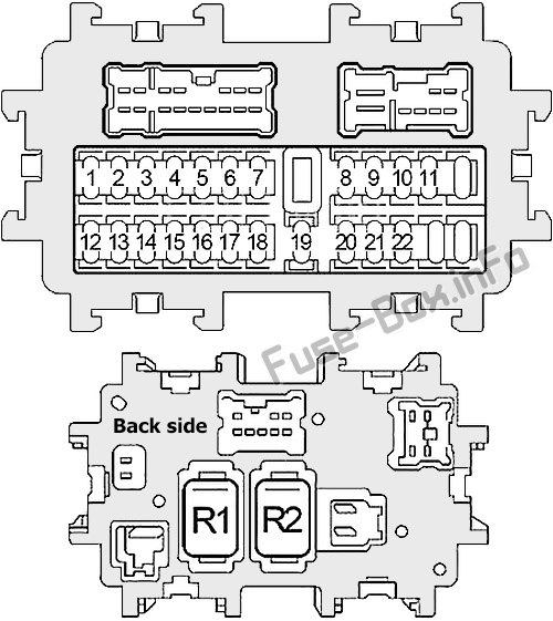fuse box diagram infiniti m35, m45 (y50; 2006-2010)  fuse-box.info