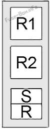 Relay Box #2: Infiniti M56 (2010, 2011, 2012)