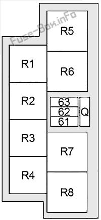 Relay Box: Infiniti Q70 (2013, 2014, 2015, 2016, 2017, 2018, 2019)