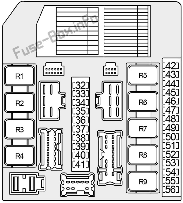 Fuse Box Diagram Infiniti Qx56  Ja60  2004