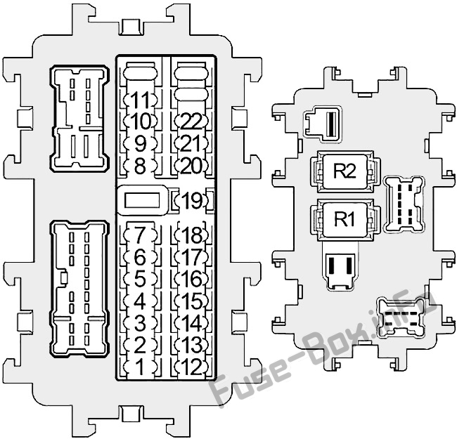 [DIAGRAM_1CA]  Fuse Box Diagram Infiniti QX56 (JA60; 2004-2010) | Infiniti Qx56 Fuse Diagram |  | Fuse-Box.info