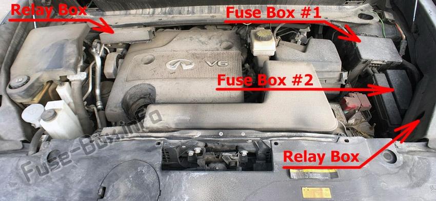 fuse box diagram infiniti jx35, qx60 (2012-2017)  fuse-box.info