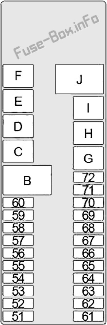 [TVPR_3874]  Fuse Box Diagram Infiniti i30, i35 (A33; 1998-2004) | Infiniti I30 Fuse Box Location |  | Fuse-Box.info