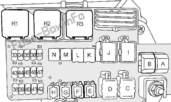 Fuse Box Diagram  U0026gt  Nissan Quest  V41  1998