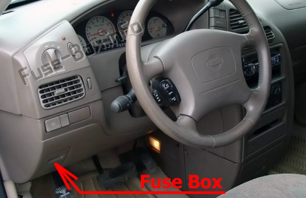 fuse box diagram nissan quest v41 1998 2002 fuse box diagram nissan quest v41