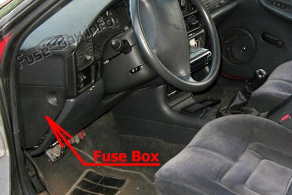 Fuse Box Diagram  U0026gt  Oldsmobile Achieva  1992