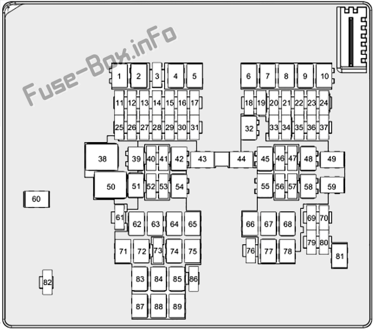 fuse box diagram ford puma (2019-2020...)  fuse-box.info