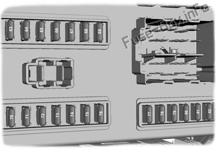 Passenger junction box diagram: Ford Transit (2007, 2008, 2009, 2010, 2011, 2012, 2013, 2014)