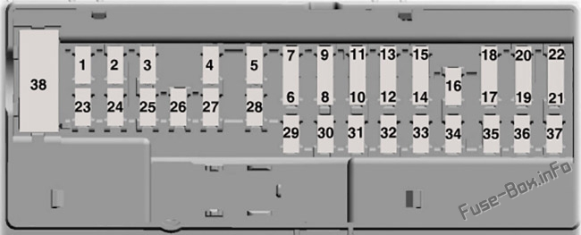 Body Control Module diagram: Ford Transit (2019, 2020, 2021...)