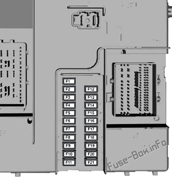 fuse box diagram ford transit custom  2016 2018