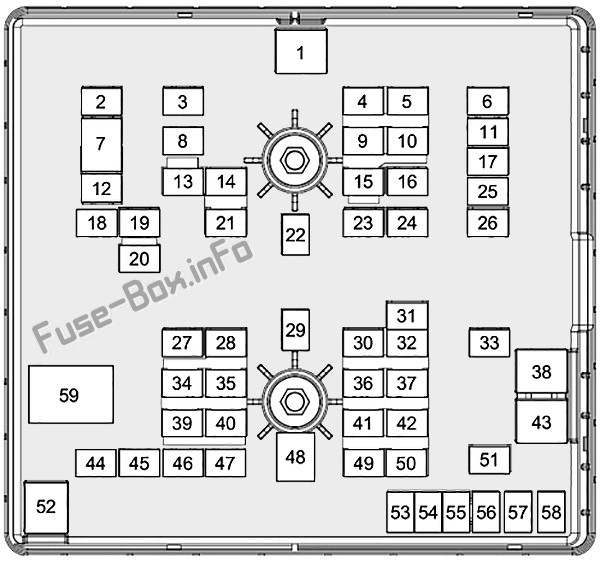 Fuse Box Diagram Ford Transit Custom  2019