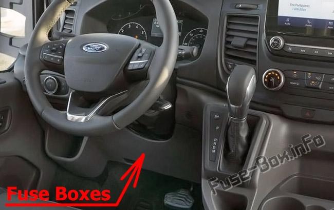 Fuse Box Diagram Ford Transit Custom (2019-2020..)Fuse-Box.info