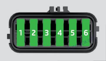 Under-hood fuse box diagram: SEAT Ibiza (2008)